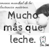 Semana mundial de la lactancia materna.