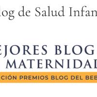 Finalista en los Premios Blog del bebé